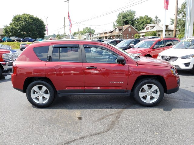 Certified Pre-Owned 2017 Jeep Compass Sport