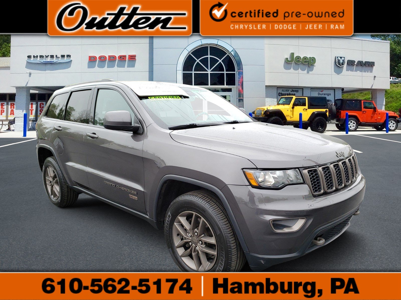 Certified Pre Owned 2016 Jeep Grand Cherokee 75th Anniversary