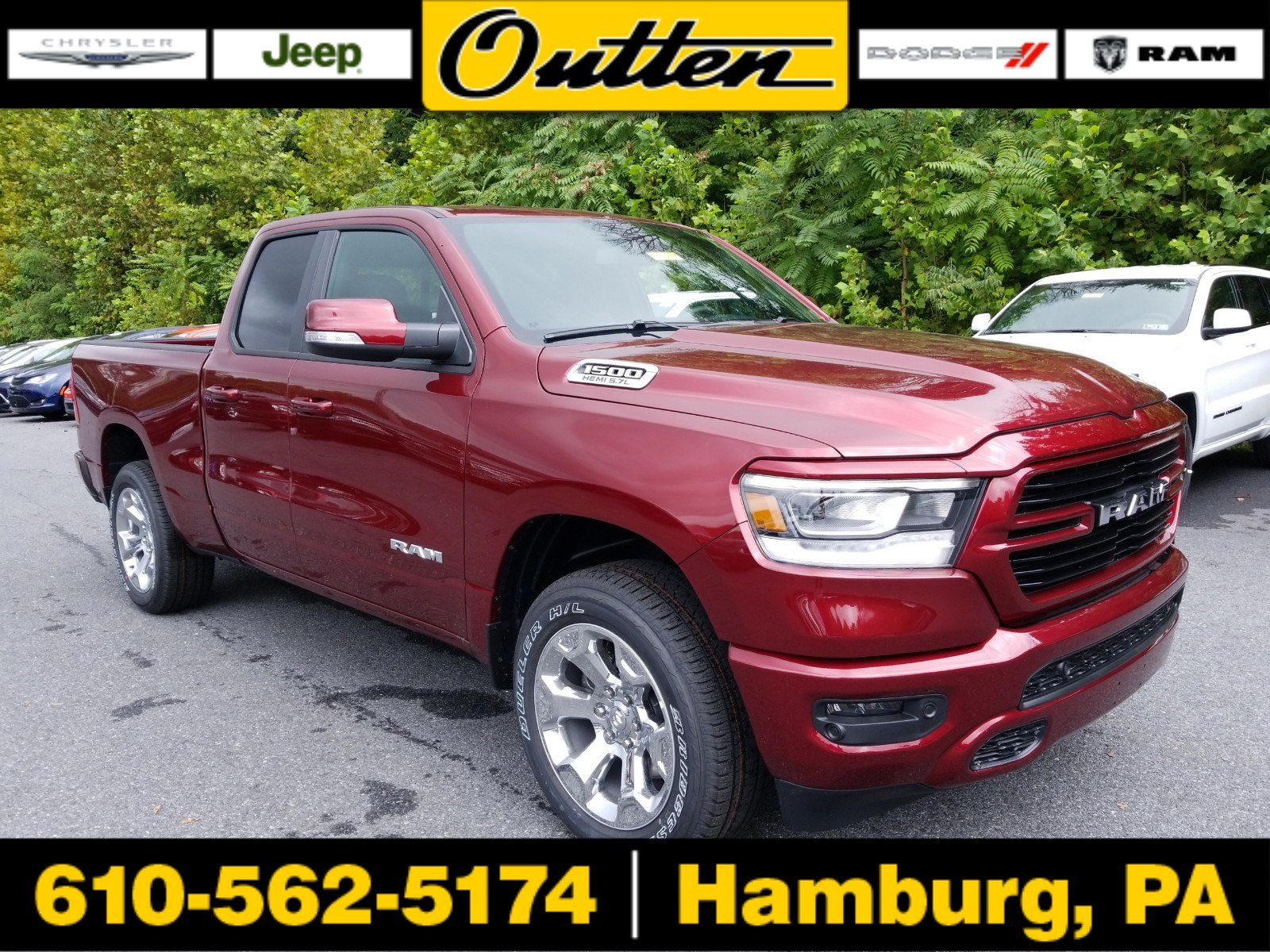 New 2019 RAM 1500 Big Horn Lone Star Quad Cab in Hamburg