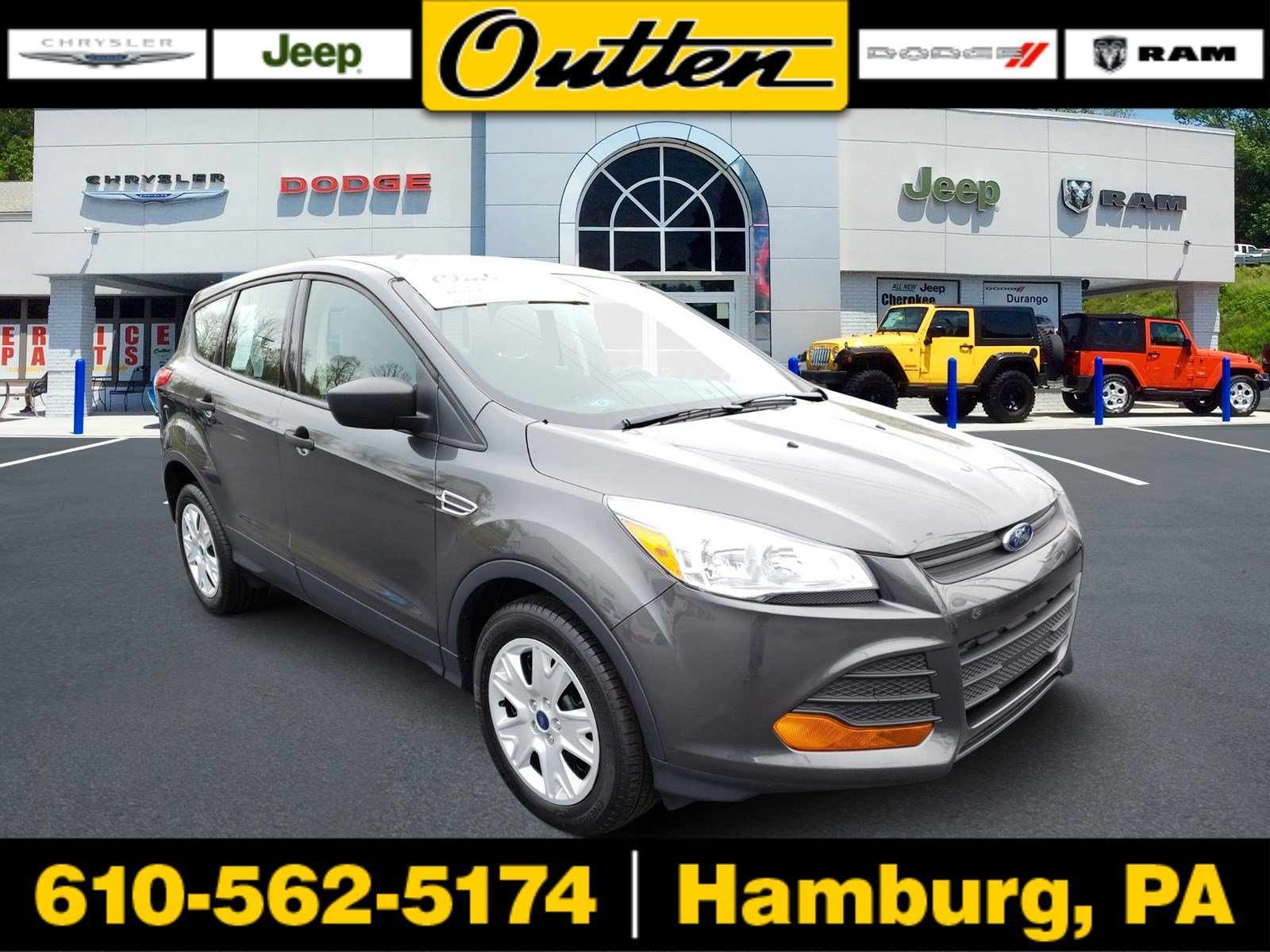 Pre-Owned 2016 Ford Escape S