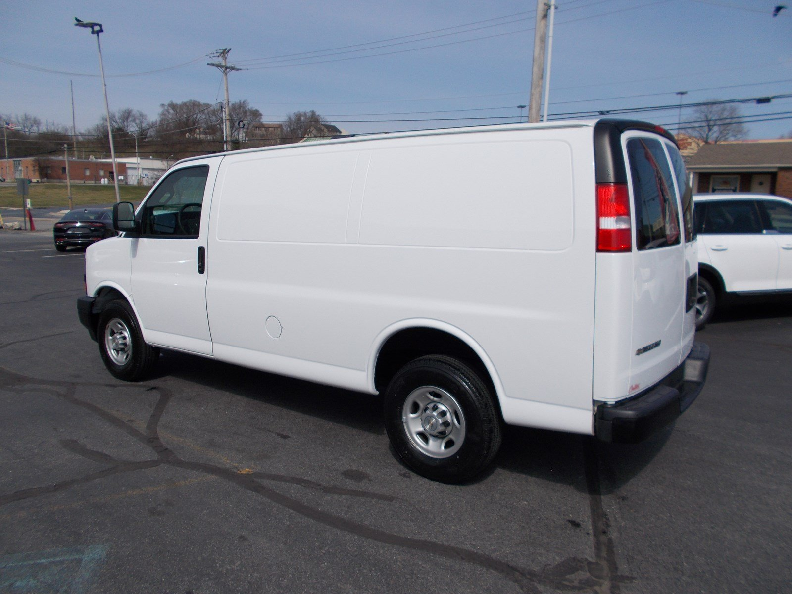 03ca152a20 Pre-Owned 2018 Chevrolet Express Cargo Van Full-size Cargo Van in ...