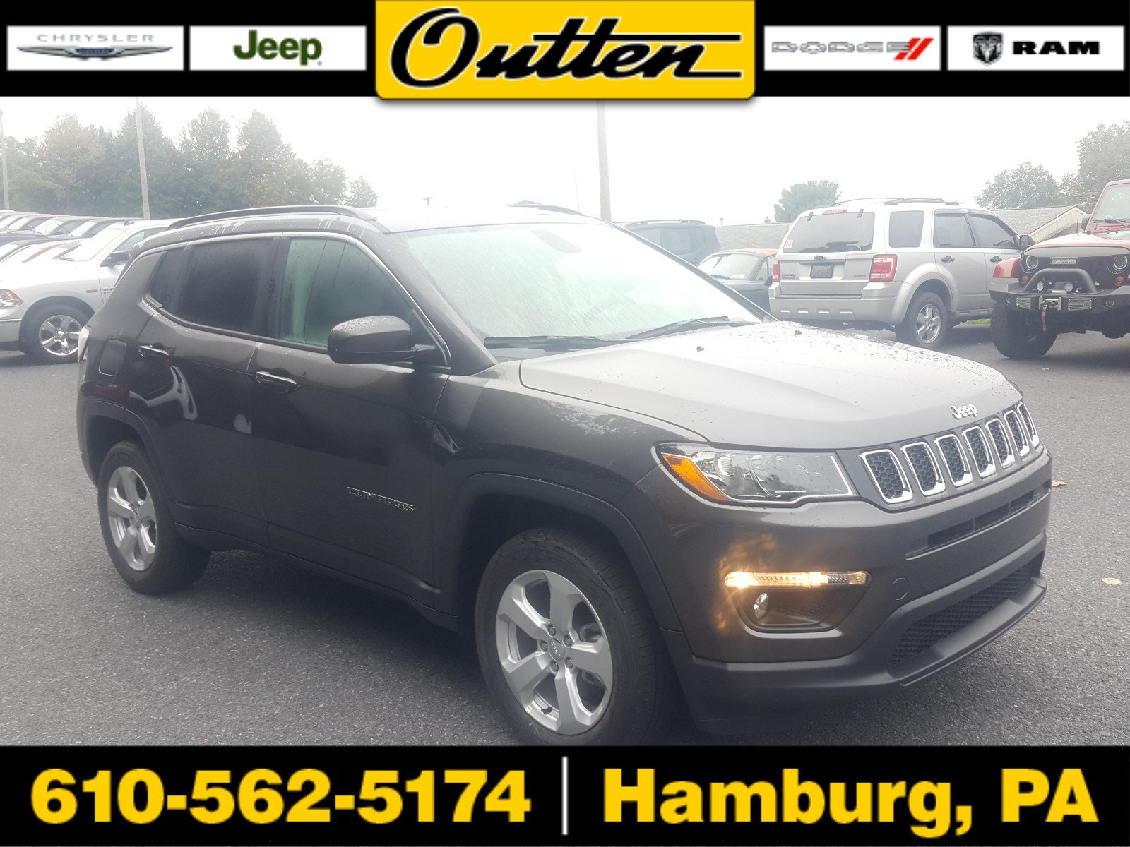 New 2019 JEEP pass Latitude Sport Utility in Hamburg