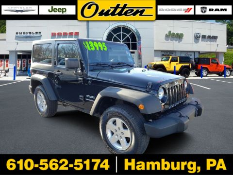 Pre-Owned 2012 Jeep Wrangler Sport 4WD Convertible