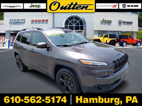 Pre-Owned 2017 Jeep Cherokee High Altitude 4WD Sport Utility