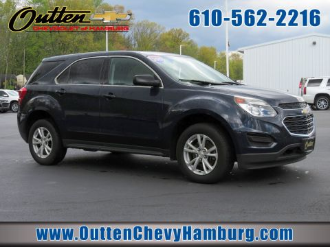 Pre-Owned 2017 Chevrolet Equinox LS AWD Sport Utility
