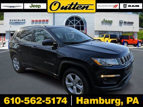 New 2020 JEEP Compass Latitude 4WD Sport Utility