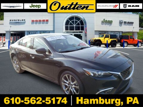 Pre-Owned 2017 Mazda6 Grand Touring FWD 4dr Car
