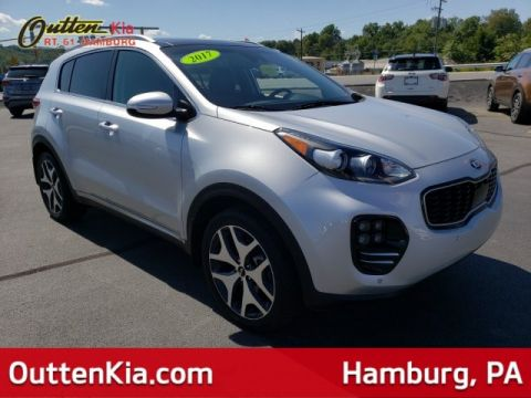 Pre-Owned 2017 Kia Sportage SX Turbo AWD