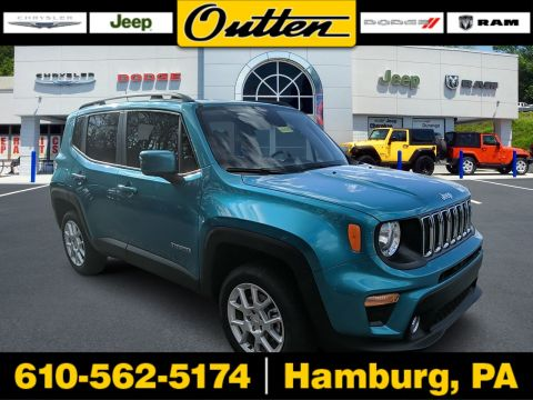 New 2020 JEEP Renegade Latitude 4WD Sport Utility