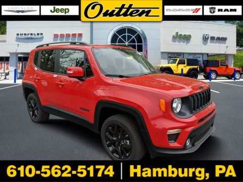 New 2019 JEEP Renegade Altitude 4WD Sport Utility