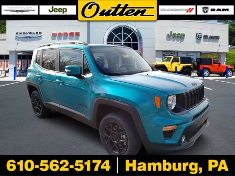 New 2020 JEEP Renegade Altitude 4WD Sport Utility